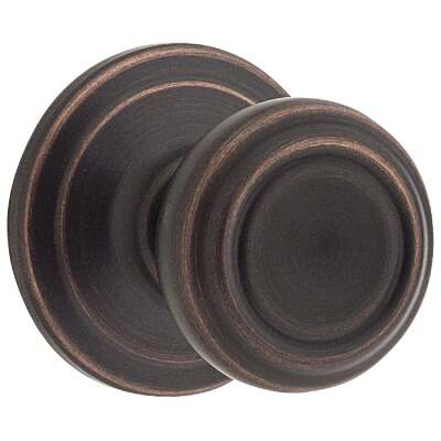 Kwikset Signature Series Venetian Bronze Hall & Closet Door Knob
