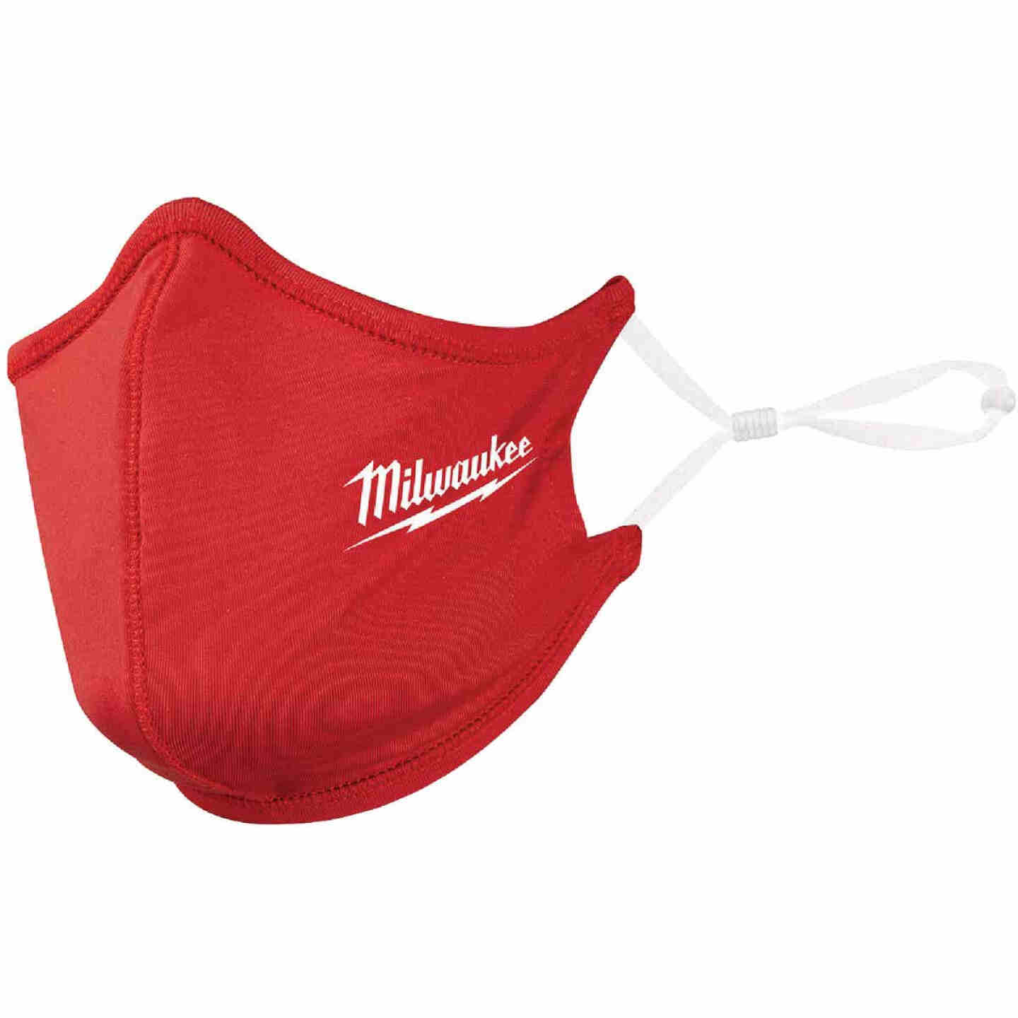 Milwaukee Red 2-Layer Washable Dust & Face Mask Image 1