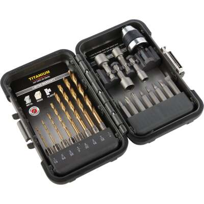 Do it 21-Piece Titanium Drill and Drive Set