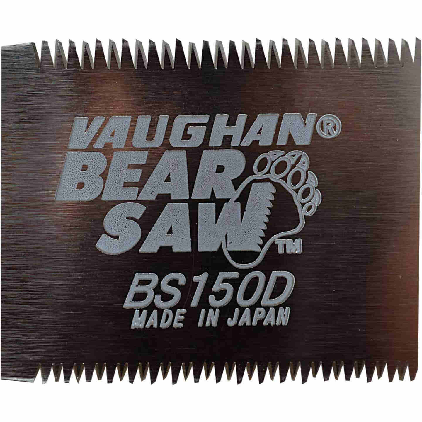 Vaughan 5-1/2 In. 17 & 21 tpi Fine & Extra Fine Cut Mini Double Edge Pull Saw Image 3