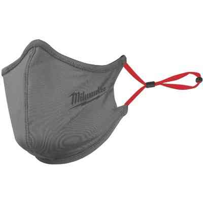 Milwaukee Gray 2-Layer Washable Dust & Face Mask