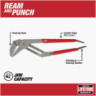 Milwaukee 20 In. Comfort Grip Straight-Jaw Groove Joint Pliers Image 2