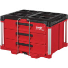 Milwaukee PACKOUT 3-Drawer Toolbox Image 1
