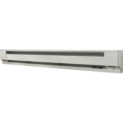 Fahrenheat 72 In. 1500-Watt 240-Volt Electric Baseboard Heater, Northern White
