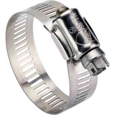 Ideal 1/2 In. - 7/8 In. All Stainless Steel Marine-Grade Hose Clamp