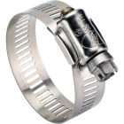 Ideal 2-3/4 In. - 3-3/4 In. All Stainless Steel Marine-Grade Hose Clamp Image 1