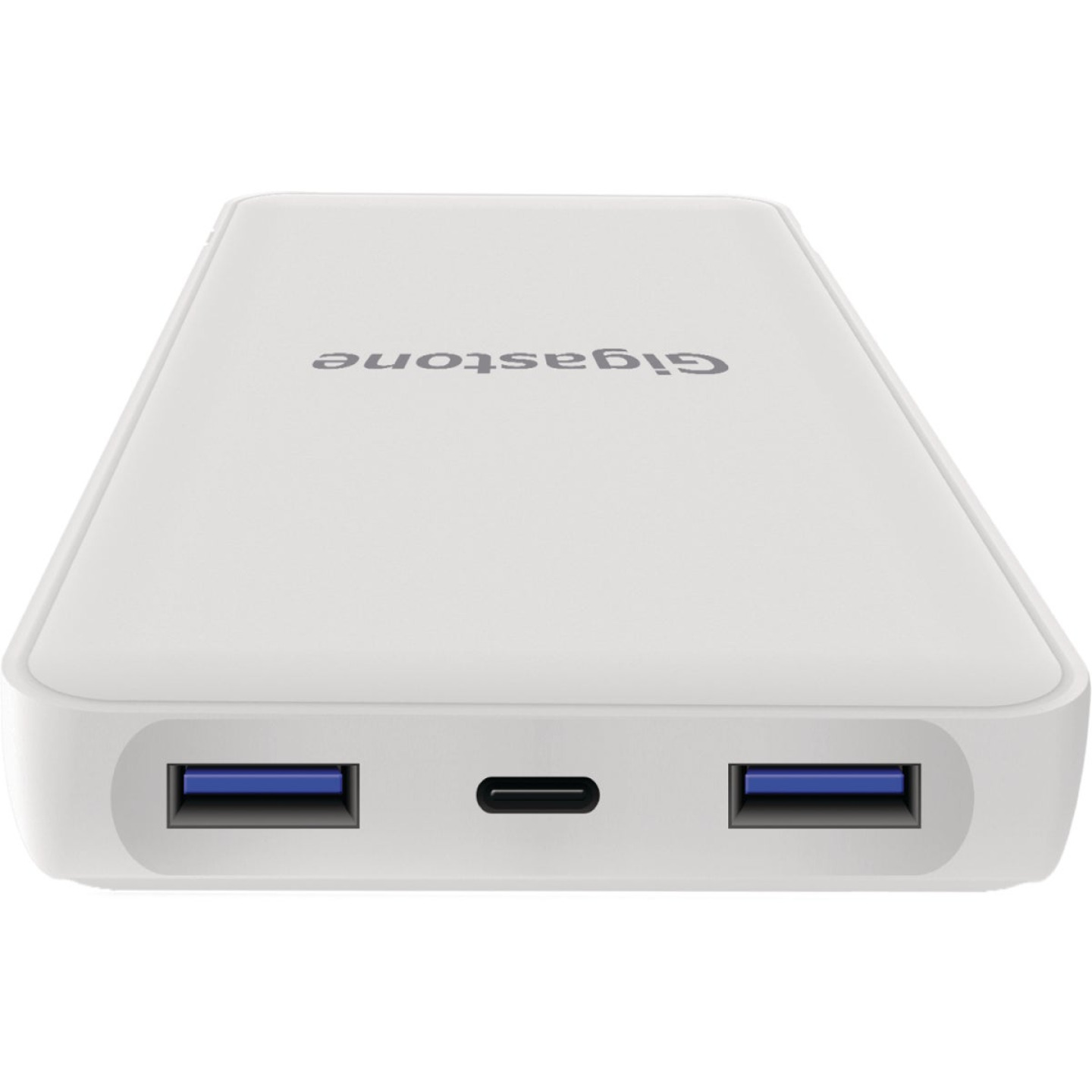 Gigastone 24,000 mAh Dual Port USB White Power Bank Image 5