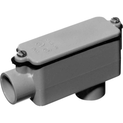 Carlon 1 In. PVC LB Access Fitting