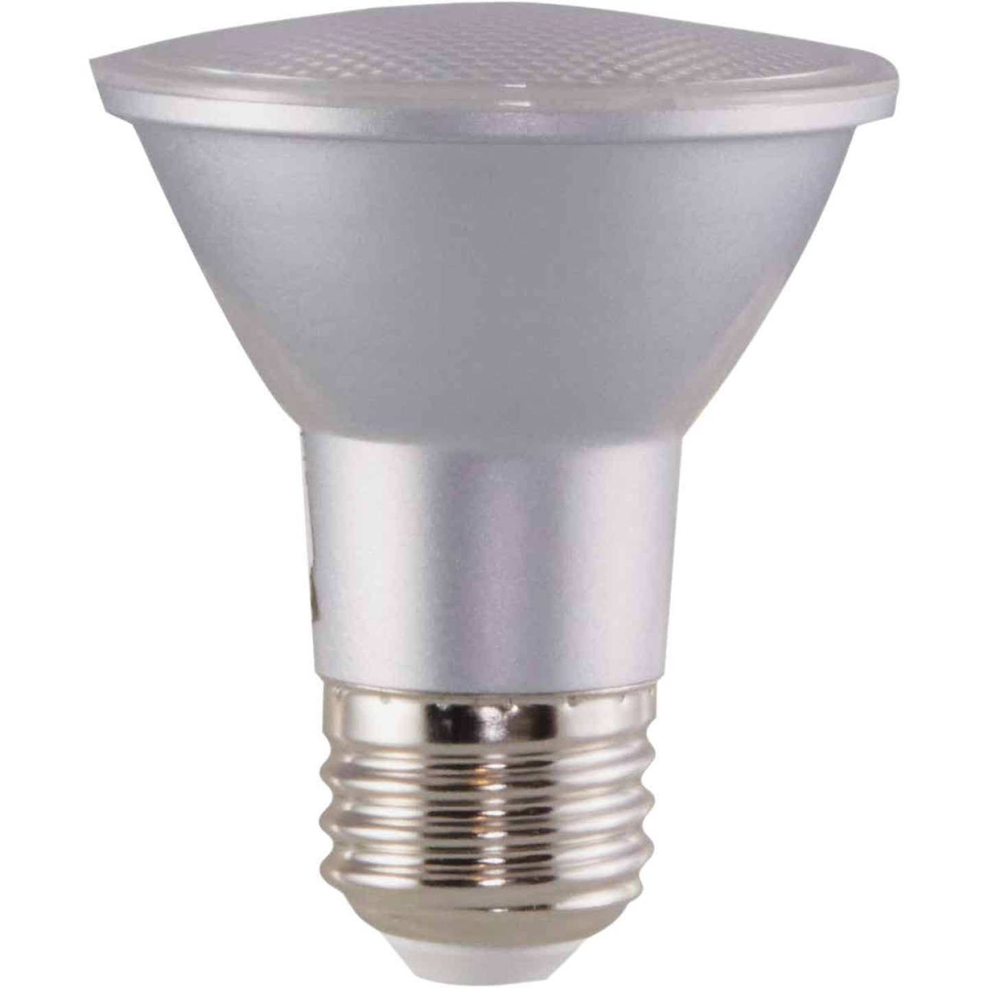 Satco 50W Equivalent Daylight PAR20 Medium Dimmable LED Floodlight Light Bulb Image 4
