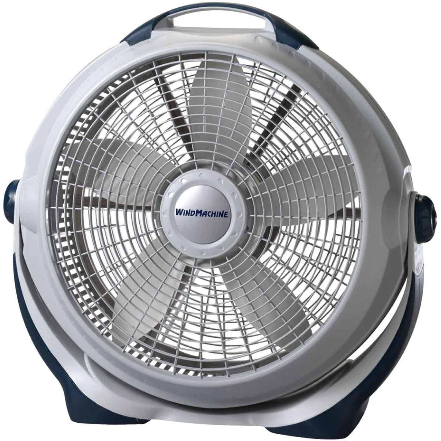 Lasko Wind Machine 20 In. 3-Speed Pearl Floor Fan Image 1