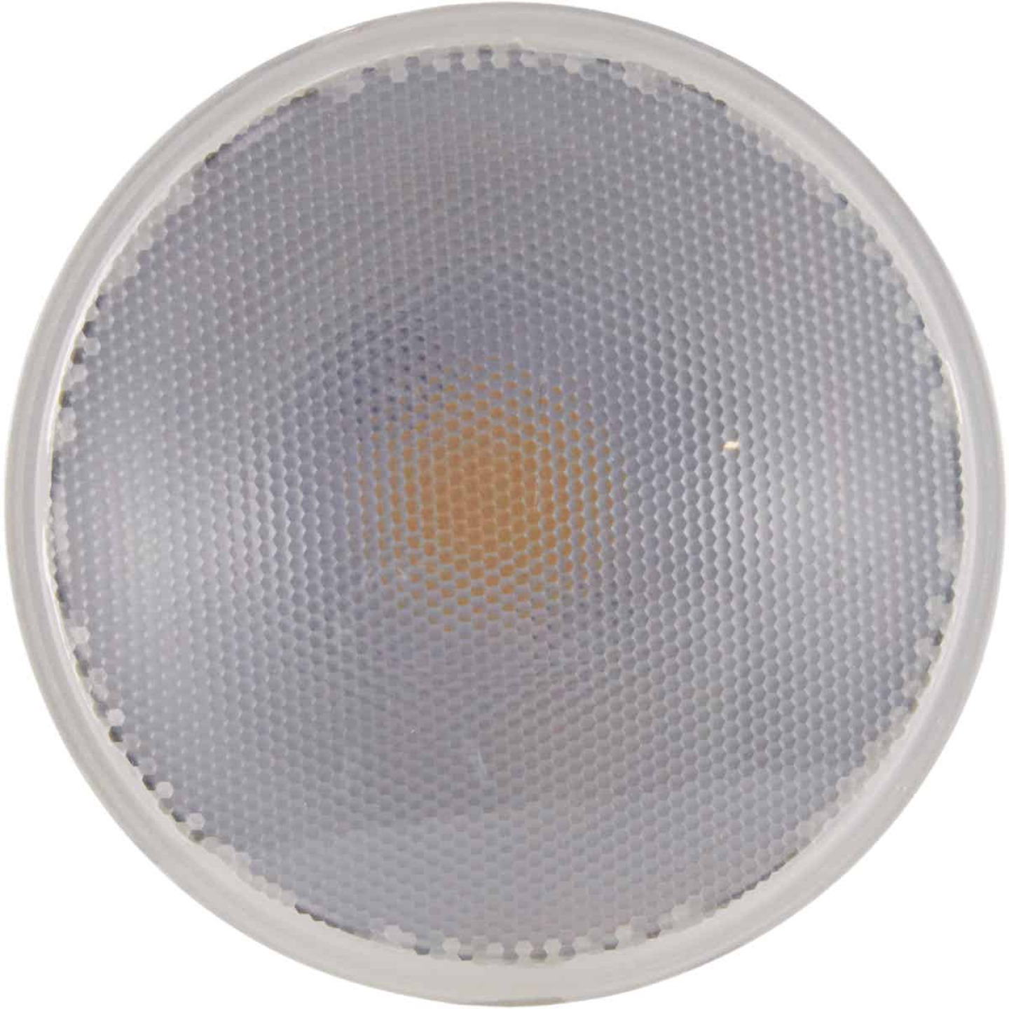 Satco Nuvo 90W Equivalent Warm White PAR38 Medium Dimmable LED Floodlight Light Bulb Image 4