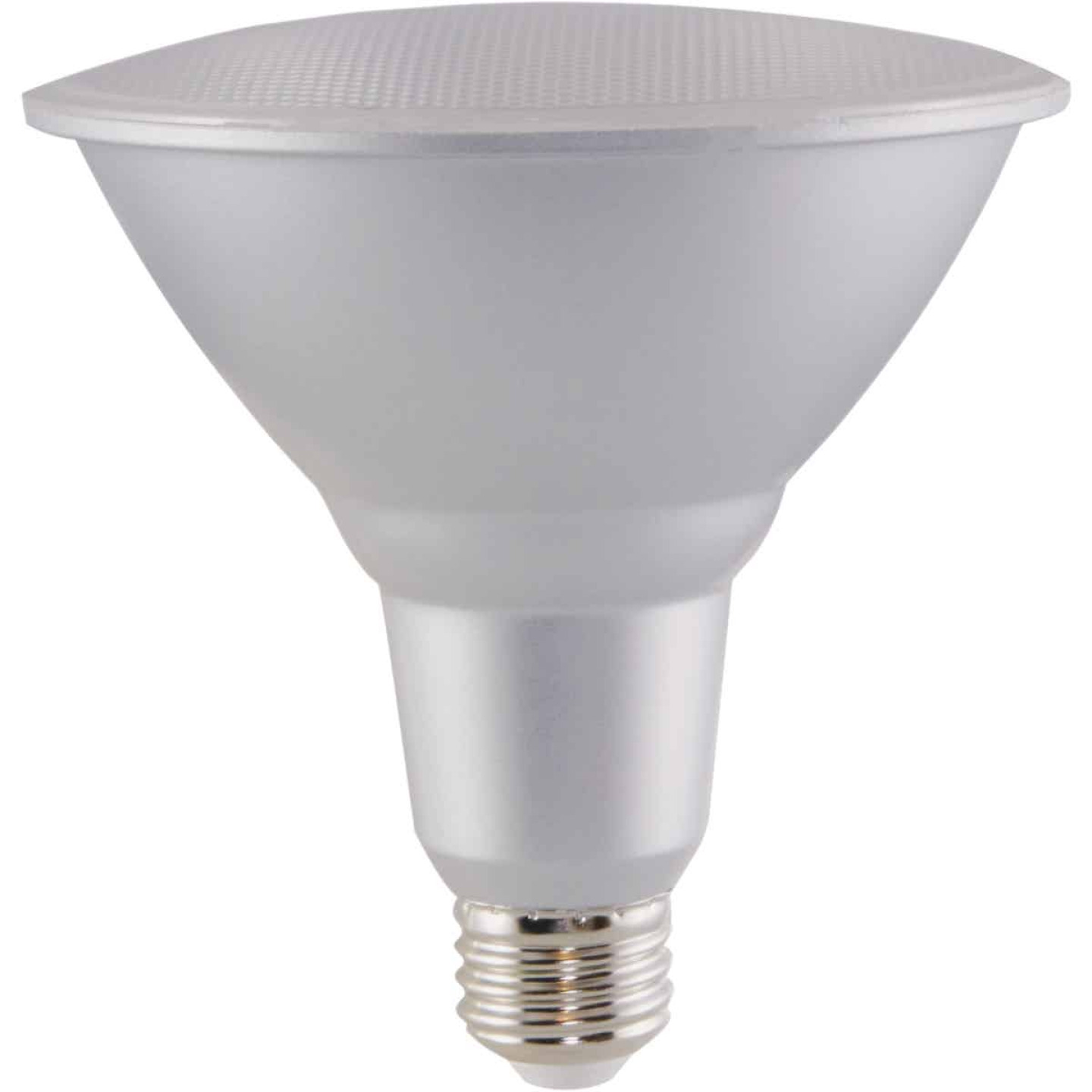 Satco Nuvo 90W Equivalent Warm White PAR38 Medium Dimmable LED Floodlight Light Bulb Image 3
