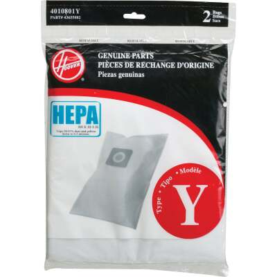Hoover Type Y HEPA Vacuum Bag (2-Pack)