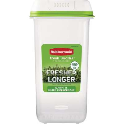Rubbermaid Freshworks Produce Saver 12.7 C. Medium Tall Produce Container