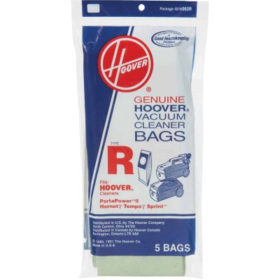 Hoover Type R Standard Vacuum Bag (5-Pack)
