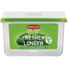 Rubbermaid FreshWorks Produce Saver Clear Large Food Storage Container Image 1