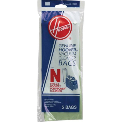Hoover Type N Standard Vacuum Bag (5-Pack)