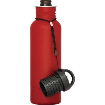 BottleKeeper 12 Oz. Red Stainless Steel Insulated Drink Holder