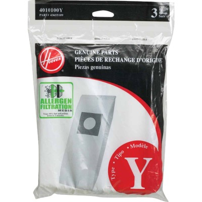 Hoover Type Y Allergen Filtration Vacuum Bag (3-Pack)