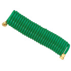 Best Garden 3/8 In. Dia. x 25 Ft. L. Coiled Hose Image 1
