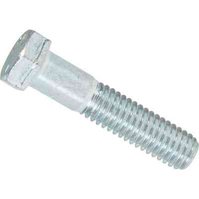 Hillman 7/16 In. x 2 In. Grade 5 Zinc Hex Head Cap Screw (50 Ct.)