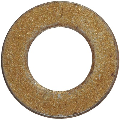 Hillman 1 In. SAE Hardened Steel Yellow Dichromate Flat Washer (10 Ct.)