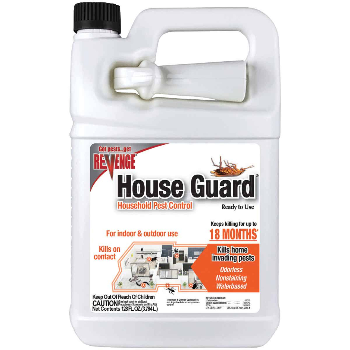 Bonide House Guard 1 Gal. Ready To Use Trigger Spray Insect Killer Image 1