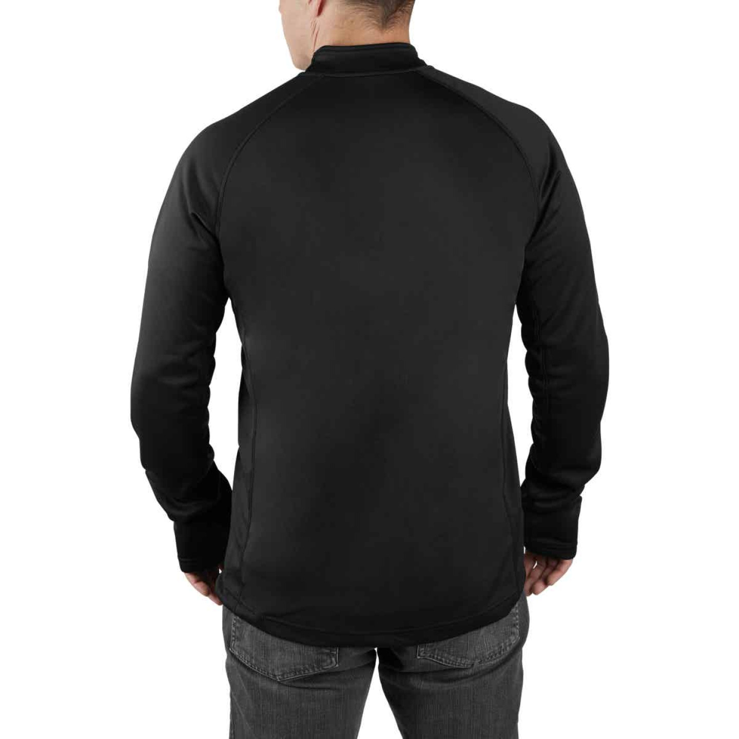 Milwaukee Workskin XL Black Heated Midweight Base Layer Shirt Image 5