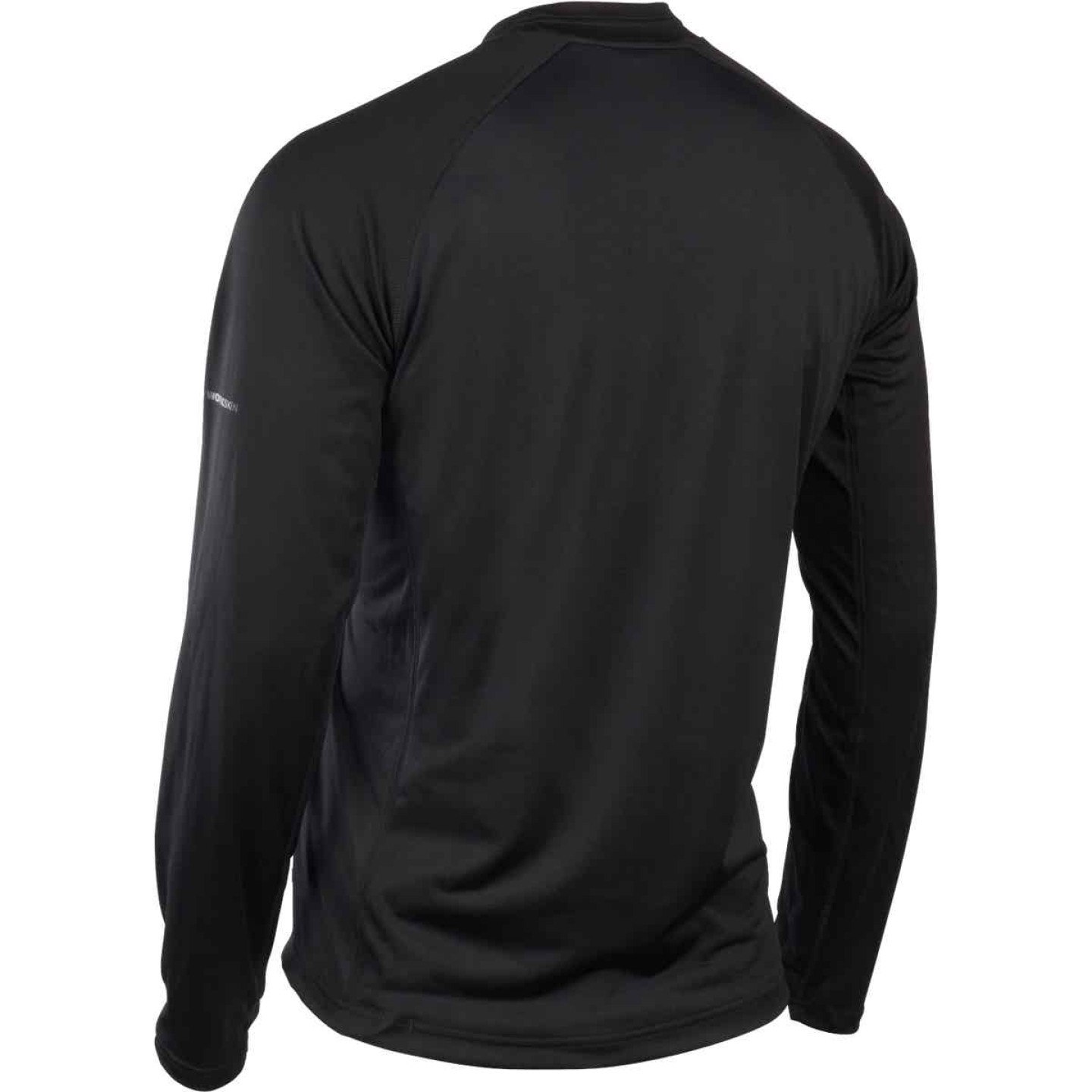 Milwaukee Workskin XL Black Heated Midweight Base Layer Shirt Image 7