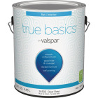 True Basics by Valspar Flat Interior Wall Paint, 1 Gal., Clear Base Image 1
