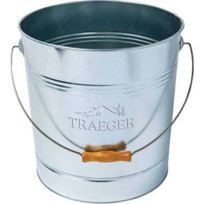 Traeger 20 Lb. Capacity 10.63 In. W. x 11.81 In. H. Galvanized Steel Pellet Dispenser Bucket