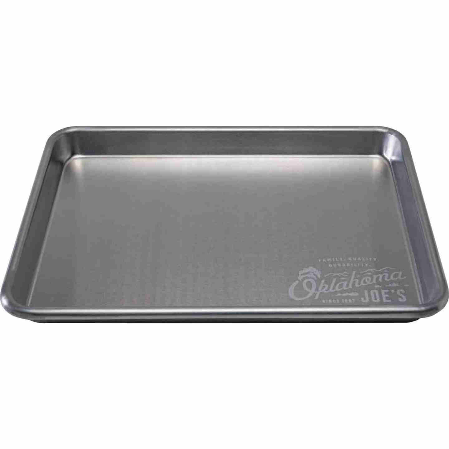 Oklahoma Joe's 13 In. W. x 9 In. L. Aluminum Serving Tray Image 3