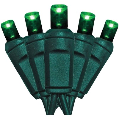 J Hofert Green 200-Bulb M5 LED Light Set
