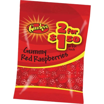 Gurley's 2.25 Oz. Gummy Red Raspberries