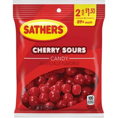 Gurley's 3 Oz. Cherry Sours